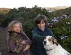 children-dog-cat-family